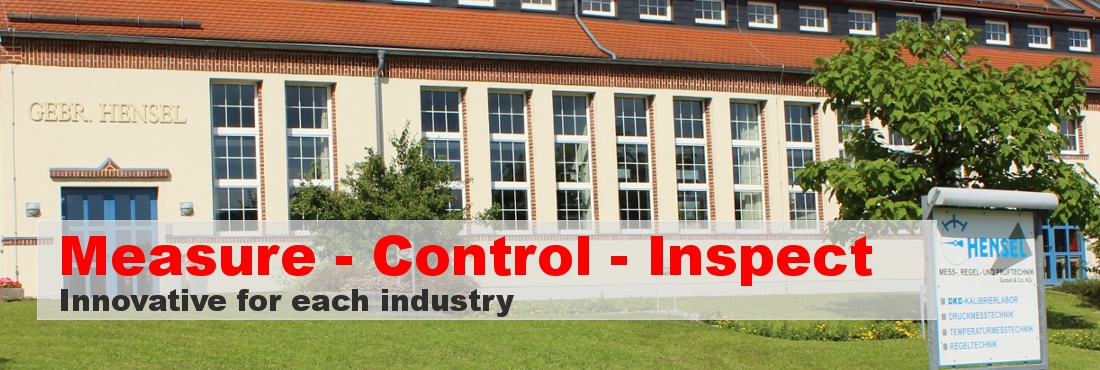 Measure - Control - Inspect - Innovative for each industry