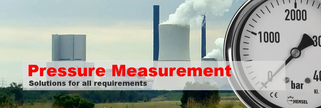 Pressure Measurement - Solutions for all requirements